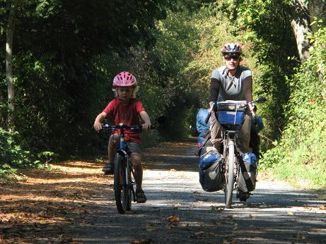 Galloping Goose trail, September 2009